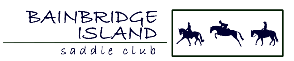 Bainbridge Island Saddle Club logo